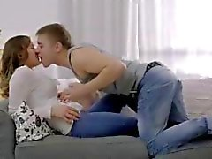 18 year old Vera rides a cock for the first time and has a deep orgasm