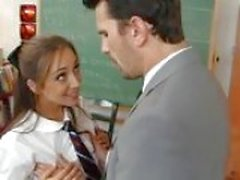 Remy La Croix fucks her teacher