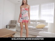 SisLovesMe - Nursing Her Stepbros Cock