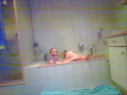 Hiddencam Compilation of my teen busty bbw horny slut sis 3