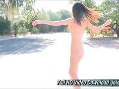 Brunette solo FTV girls fingering porn Aubrey