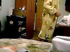 Not my sister on hidden cam