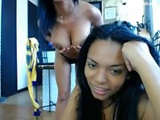 2 ebony stunning body 1 lucky white dude
