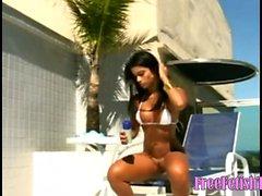 Hot Brazilian Teen Pussy Shave - FreeFetishTVcom