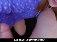 DadCrush - Crazy Step-Daughter Caught Humping Pillow