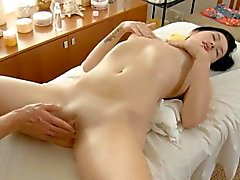 Enchanting gal bonks non-stop with her partner
