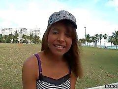 19 year old ebony newbie Anna James