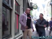 Dutch hooker pussy banged