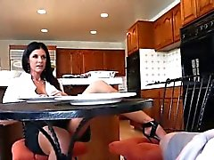 Horny MILF India Summer wanted a fresh cock to fuck