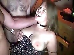 Busty young german fucked in a gangbang