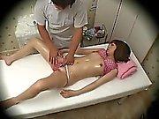 Spycam Fashion Model seduced by masseur 3