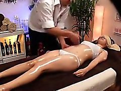 Asian Girl Gets A Massage
