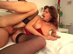 Hot milf and her younger lover 716