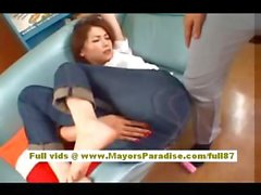 Asami Ogawa gorgeous Chinese girl gets licked