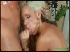Blonde Kacey Jordan loves that hard cock deep in her wet pussy