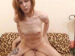 Pretty Latvian Hottie Gets Her Vag Drilled