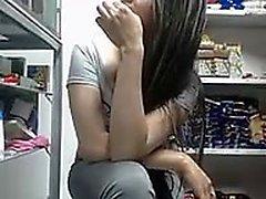 Cute Busty Teen Webcam Solo