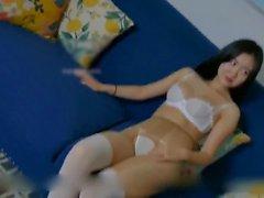 香港摄像师给白虎裸模拍写真