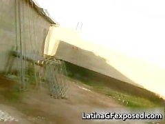 Amateur latina gf completely naked under part3