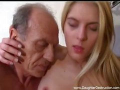 Youmg daughter anal fucked hard by daddy