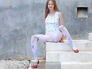 Luxury peening of super skinny princess