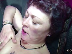 German Young Boy Caught Step-Mom Masturbate and get a Fuck