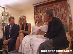 Bride-to-be got a nasty facial