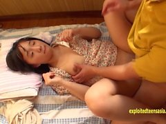 Petite Okki In One Of Her First Movies Shaved Pussy Flat Chested Beauty