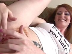 Nikki Rhodes - Hot Redhead Babe Want A Rough Sex