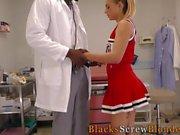 Teen rides black doctor