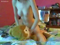 Stuffed Bunny - dirtstyle