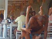 Beach Nammos Restaurant Sexy Dancing