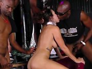 Stripper jizzed by bbcs