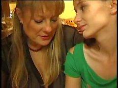 Mature Lesbian Seducing Hot Girl