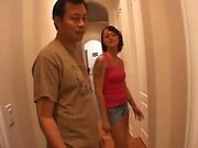 The husband watch his wife get fucked More On HDMilfCam,com