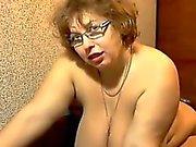 Big And Busty Mother Masturbates