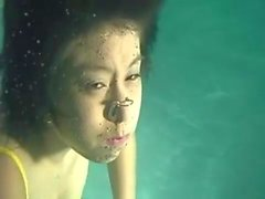 Asian Girl Underwater 2