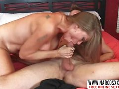 Lively Step Mother Darla Crane Makes Hard-Core Sex