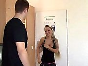 German Teen in privat hardcore Fuck with Step-dad