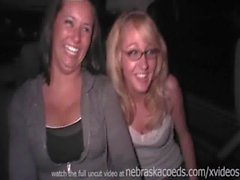 ex girlfriends private party video and their friends the twins