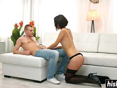 Sweet Liona gets her ass drilled