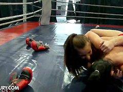 NudeFightClub presents Amirah Adara vs Jessyka Swan