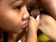 Filipina Cuties Fucked In Threesome