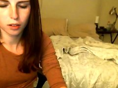 Incredible teen does striptease on webcam