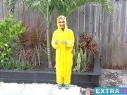 Big dicked Sean fucks Freya Von Doom dressed like a pokemon