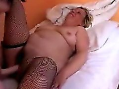 Granny Fucked By A Teen Girl With A Strap On