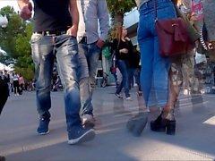 Teens Pantyhose Legs 2