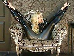 Flexible Zlata & Legs Behind Head - Latex & Sexy High Heels