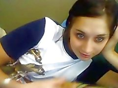 Sexy Russian Girl Plays With Herself On Cam