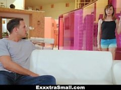 ExxxtraSmall - Spinner Pounded By Jumbo Sized Dick